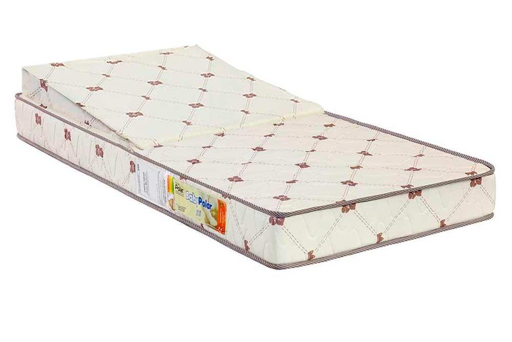 Colchão Infantil Espuma D18 Baby Polar c/Anti-Refluxo