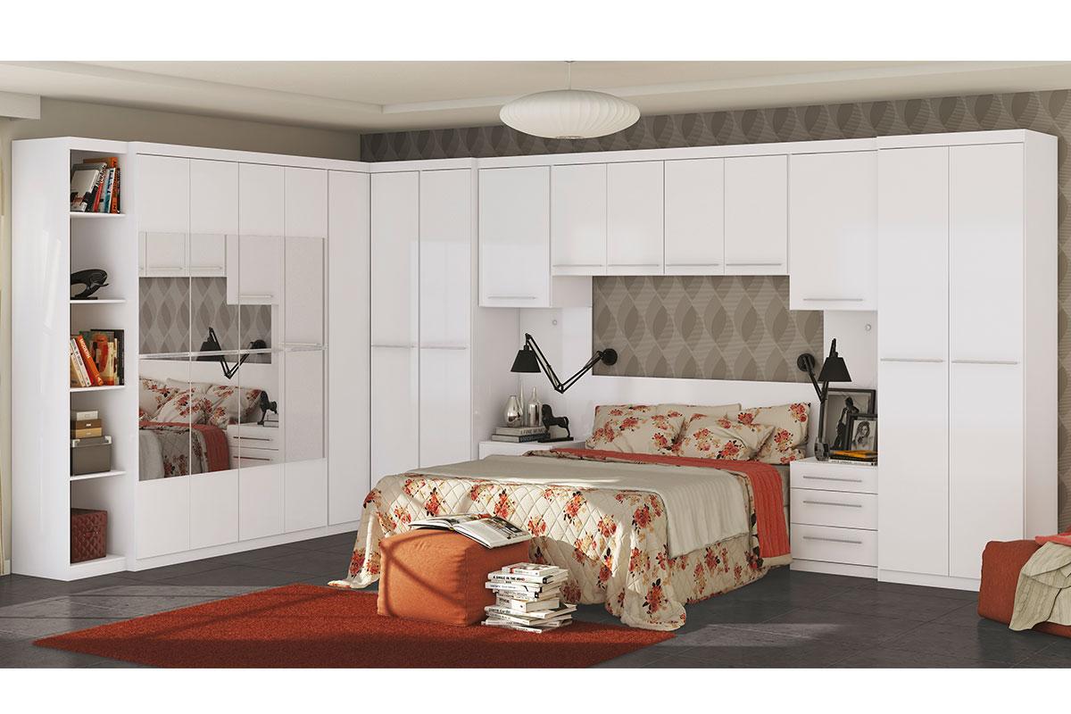 Que tal um quarto planejado por você mesmo? ~ Quarto Pequeno Modulado