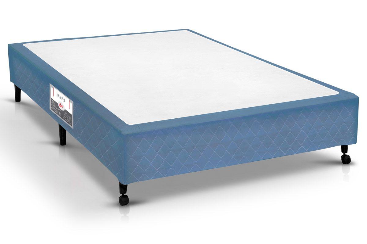 Cama Box Castor Poli Azul
