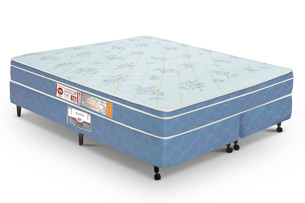 Colchão Castor Espuma D45 Sleep Max Euro (M.E) 25cm