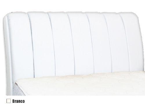 Cabeceira Box MB Espanha  0,88 Solteiro - Cor Branco