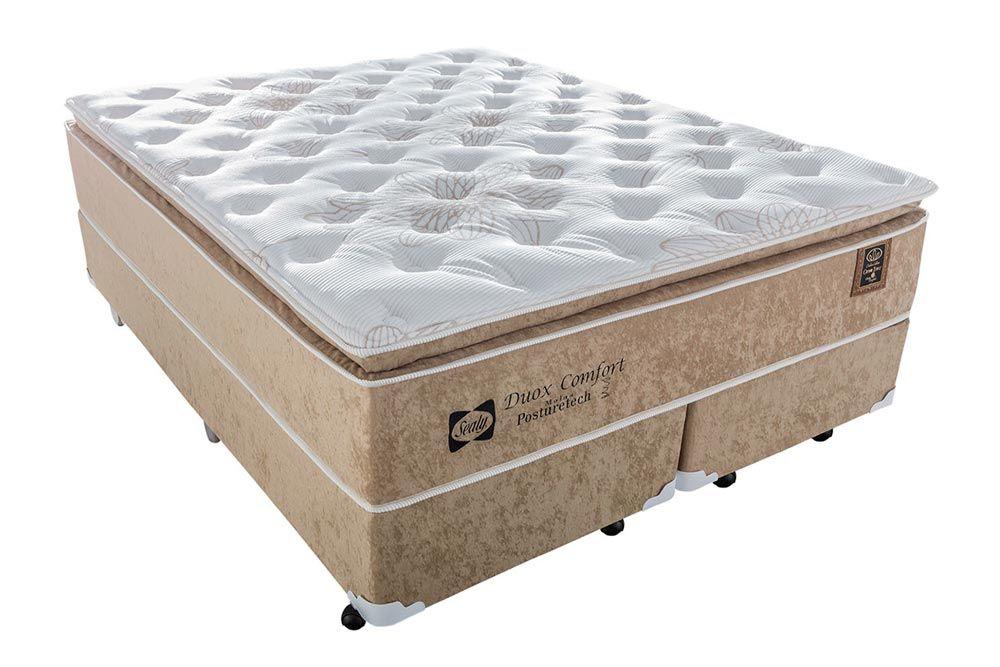 Colchão Sealy Molas Posturepedic Doux Confort - Colchão Casal - 1,38x1,88x0,36 - Sem Cama Box