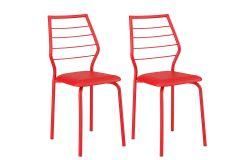 Caixa c/ 2 Cadeiras Carraro 1716 Color