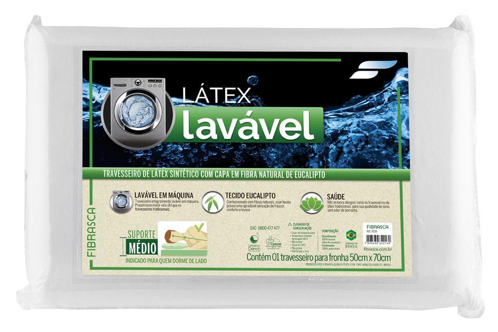 1d7253b128d4 Travesseiro Fibrasca Látex Sintético Eucaliptus até 40% OFF - Filhao.com