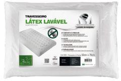 Travesseiro Fibrasca T.Látex Plus Lavável