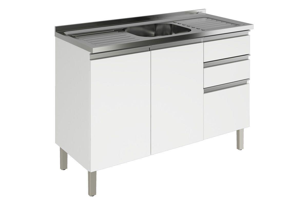 Gabinete De Cozinha Itatiaia Clarice Ig3g3 120 C Pia At 40 Off