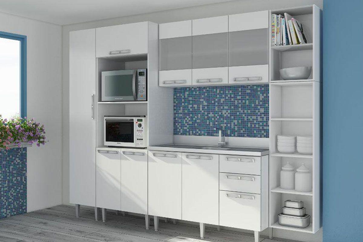 Cozinha Completa Art In M Veis Mia Coccina C 6 Pe As Cz45 S Pia