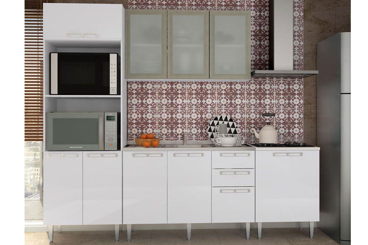Cozinha Completa Art In M Veis Mia Coccina C 5 Pe As Cz54 S Pia