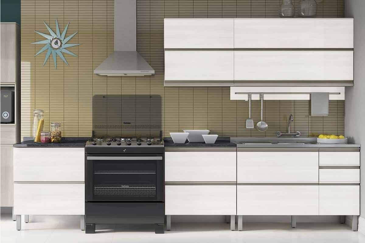 Cozinha Completa Itatiaia Bel Ssima Plus De Madeira Cz33 At 40 Off