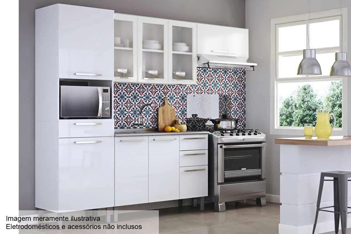 Cozinha Completa Itatiaia Dandara De A O Cz42 At 40 Off Filhao Com