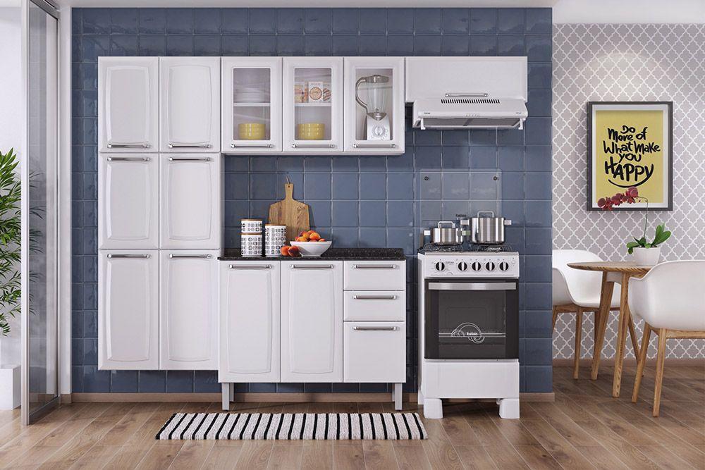Cozinha Completa Itatiaia Luce De A O Cz57 At 40 Off Filhao Com