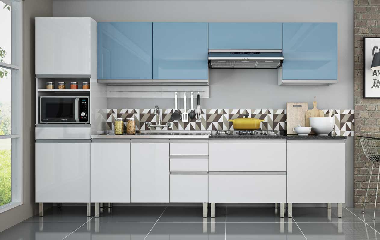 Modelos De Cozinha Completa Cozinha Em Ao Colormaq Ipanema Peas Com