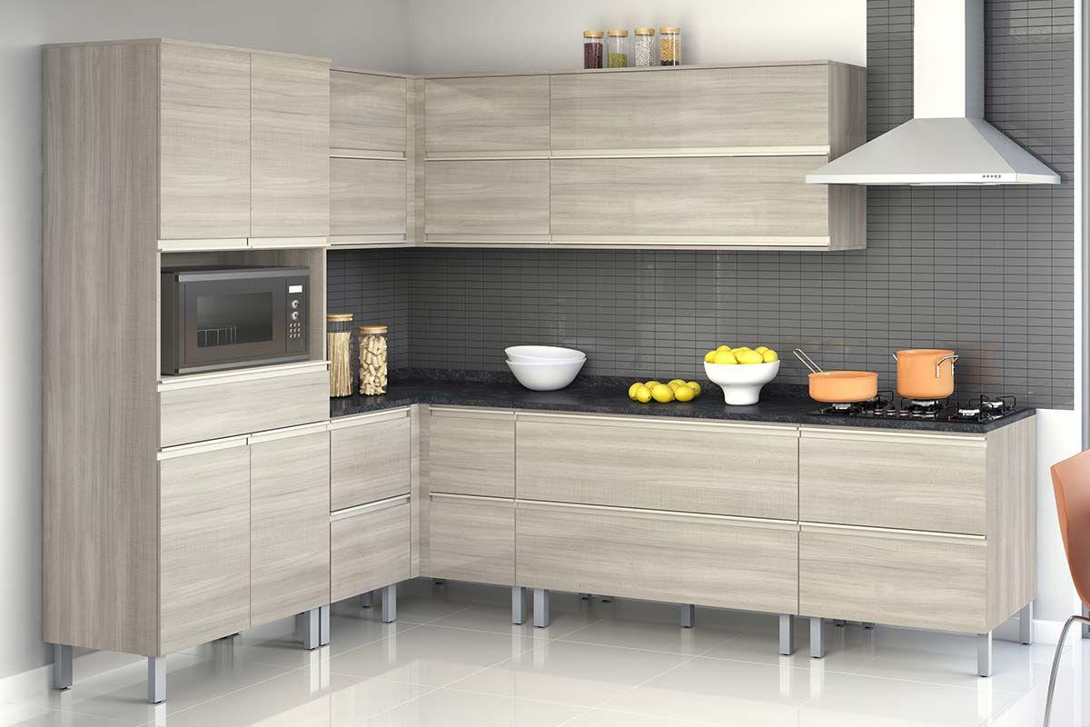 Cozinha Completa Itatiaia Bel Ssima Plus De Madeira C 10 Pe As Cz72