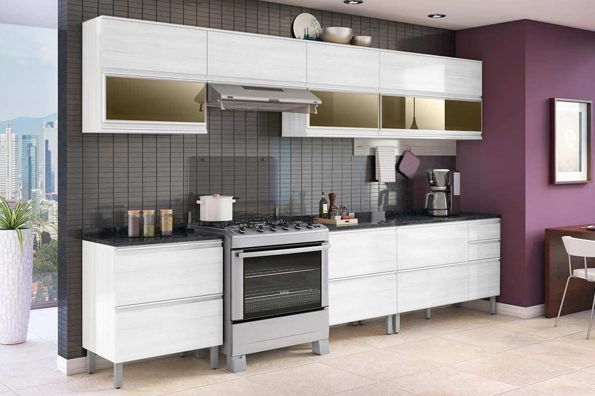 Cozinha Completa Itatiaia Bel Ssima Plus De Madeira C 11 Pe As Cz73