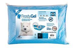Travesseiro Fibrasca Frostygel Sensação Frescor Viscoelástico Block Base System