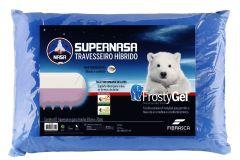 Travesseiro Fibrasca Frostygel Sensação Frescor Supernasa Viscoelástico e T.Latex