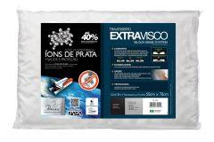 Travesseiro Fibrasca Extravisco c/ Íons de Prata