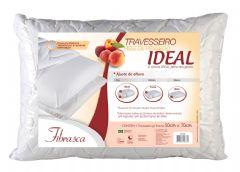 Travesseiro Fibrasca Pele de Pêssego Ideal Espuma T.Latex Altura Regulável