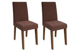 Cadeira Cimol Milena (2 Unidades)-Madeira