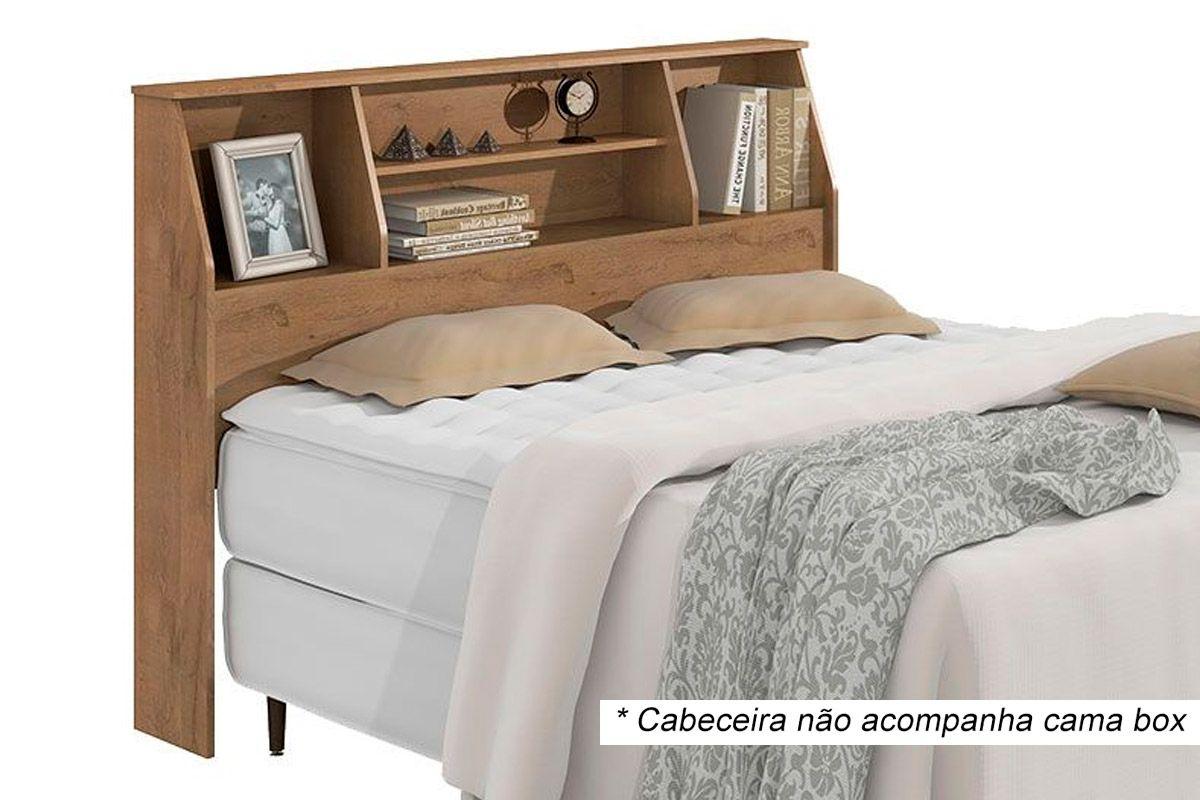 Cabeceira Cama Box Casal Lopas Castellaro