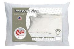 Travesseiro Castor Sleep Flocos de Látex 0,45x0,65