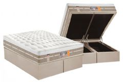 Conjunto - Colchão Castor Pocket Silver Star Air + Cama Box