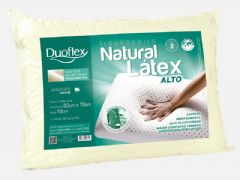 Travesseiro Duoflex Natural Látex Alto LN1101