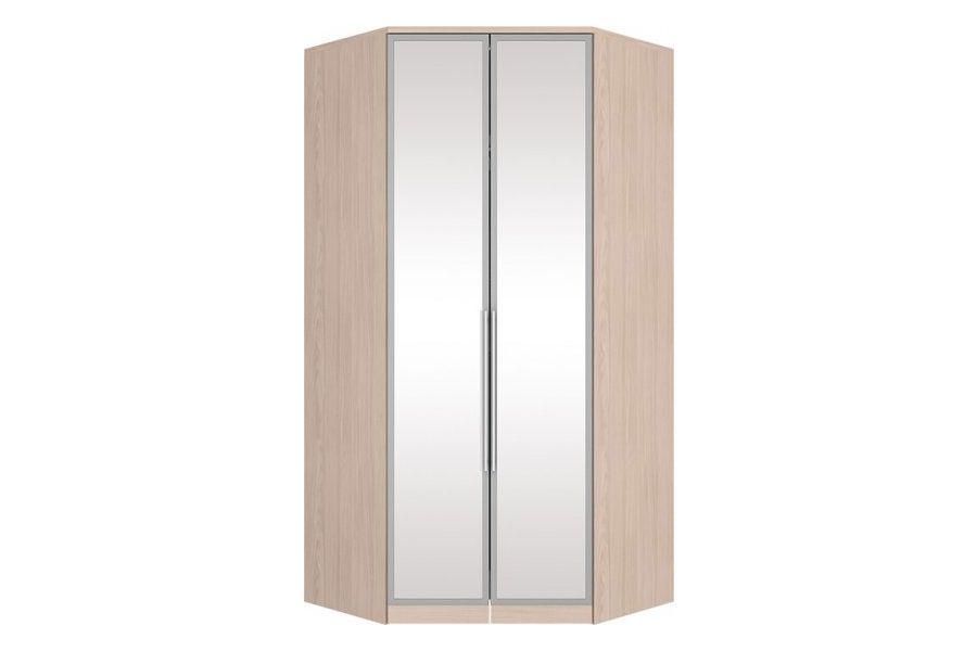 Guarda Roupa Closet de Canto Henn Diamante c/ 2 Portas de Espelho (Componível)
