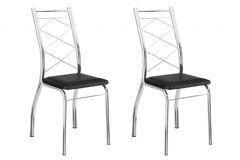 Cadeira Carraro 1710 (2 Unidades)-Aço