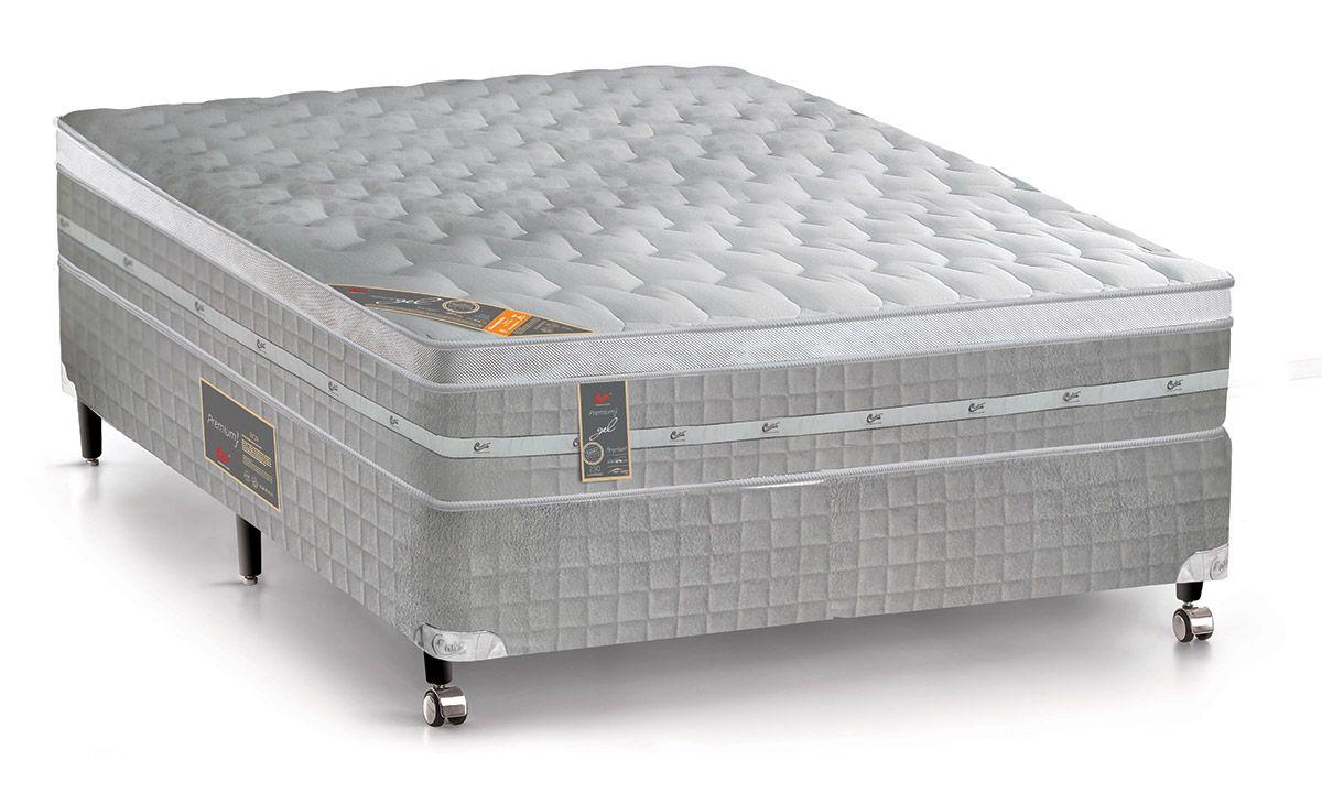 c1c883f60 Colchão Castor de Molas Pocket Premium Gel Euro Pillow até 40% OFF ...