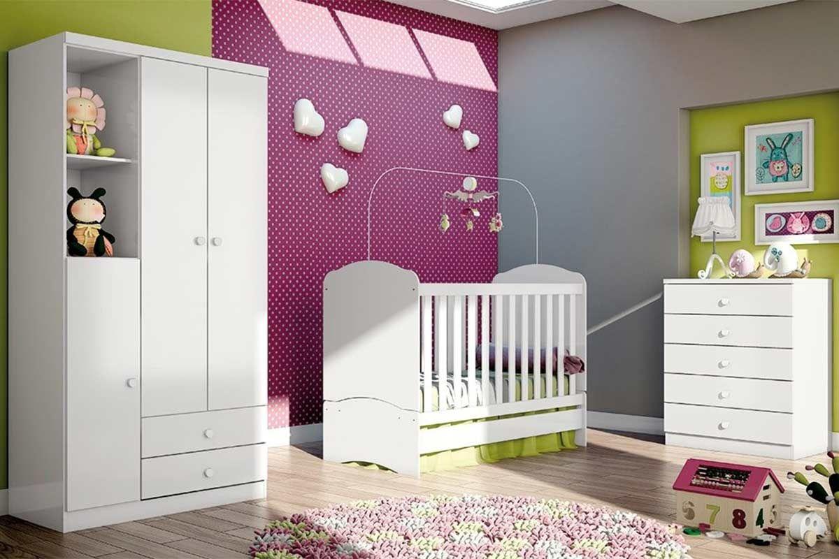Quarto Infantil (Bebê) Completo Henn Bala de Menta