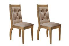 Cadeira Rufato Ágata Imbuia (2 Unidades)