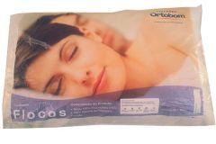 Travesseiro Flocos Espuma Ortobom