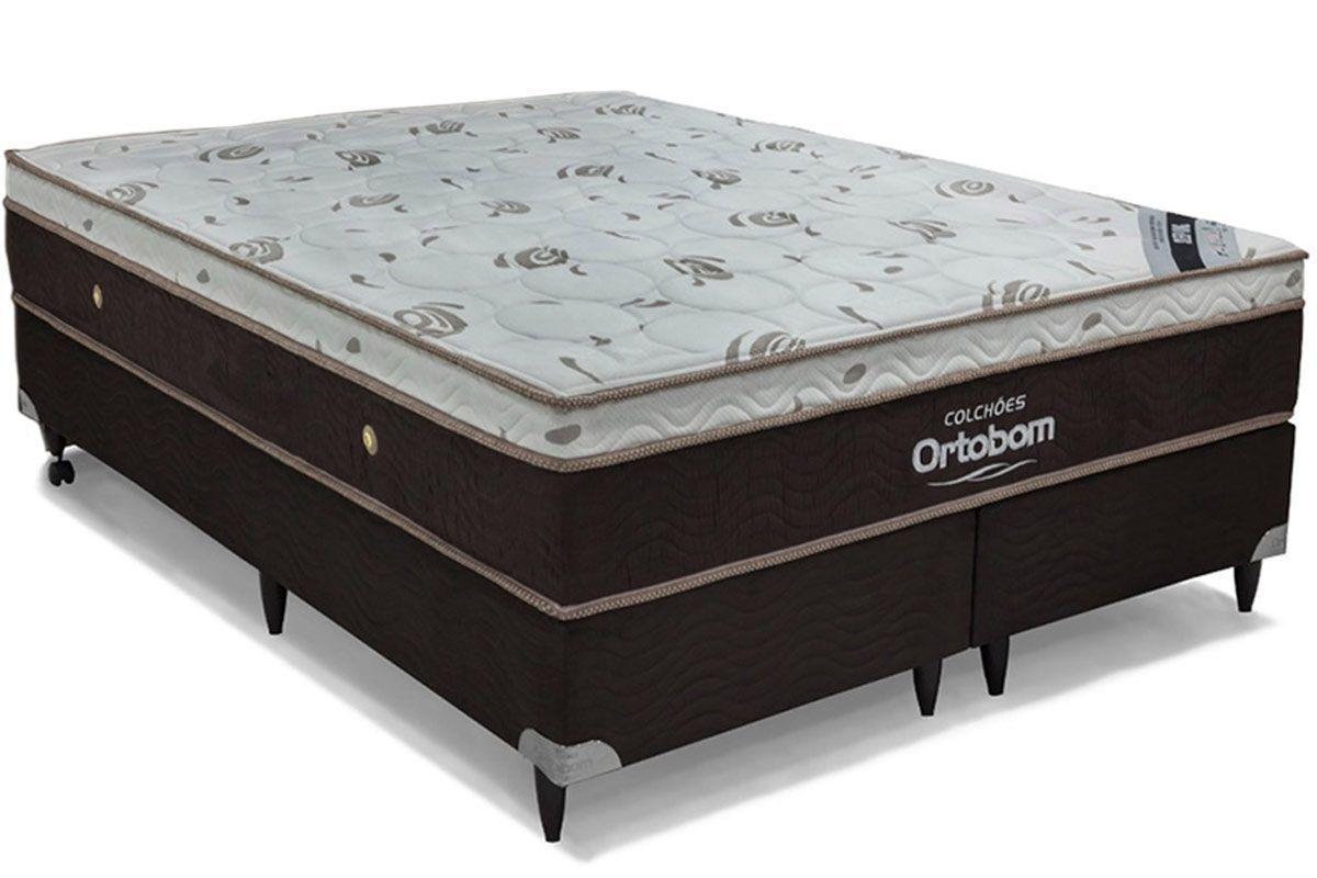 Colchão Ortobom Pocket Sleep King Látex