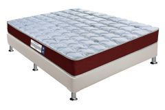 Conjunto Cama Box - Colchão Probel de Espuma D23 ProDormir Advanced + Cama Box Universal Courino White