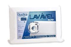 Travesseiro Duoflex Lavável Alto  LV3100