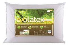 Travesseiro Fibrasca Evolátex Médio c/ Fibra de Eucalípto