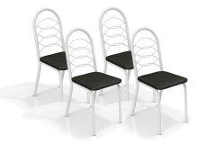Cadeira Kappesberg Holanda 4C009BRF (4 Unidades)- Aço Color