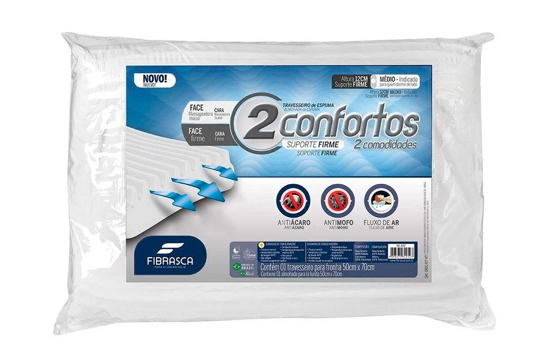 Travesseiro Fibrasca 2Confortos