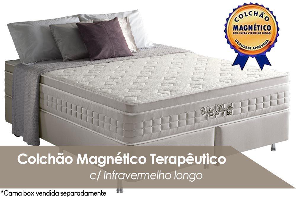 Colchão Anjos Confort Magnético Terapêutico c/ Infravermelho (Bege)