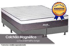 Colchão Magnético Infravermelho Terapeutico Salute Branco/Cinza