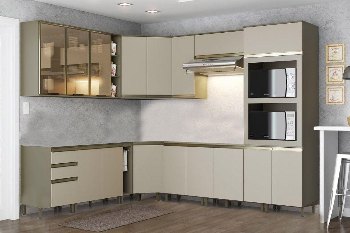 Cozinha Completa Itatiaia Clarice de Aço CZ40 Selecionar Produtos