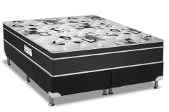 Conjunto- Colchão Probel Prolastic Guardian+ Cama Box Black