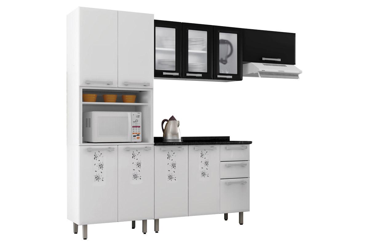 Armário De Cozinha Itatiaia Essencial Bella Nature Aço 2 Portas C  #714926 1200 800