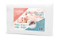 Travesseiro Duoflex Infantil Antissufocante  Viscoelástico Nasa BB3002 200 Fios Impermeável