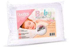 Travesseiro Duoflex Baby Viscoelástico Nasa BB1002 200 Fios Impermeável