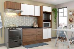 Cozinha Completa Multimóveis Calábria 5457 4 Peças