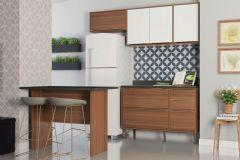 Cozinha Completa Multimóveis Calábria 5460 4 Peças