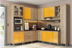 Cozinha Completa Multimóveis Sicília 5803 9 Peças