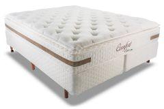 Colchão Mannes de Molas Superlastic Comfort Visco Pillow Top